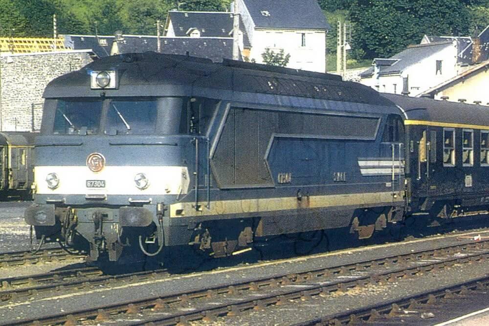 Locomotives BB 67000 – 67200 – 67300 – 67400