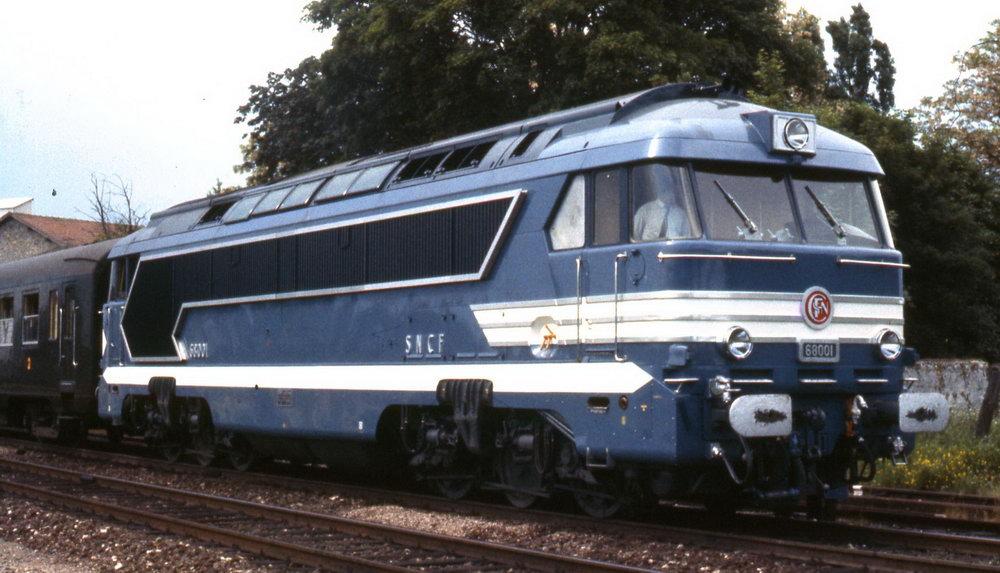 Locomotives A1A A1A 68000 et 68500