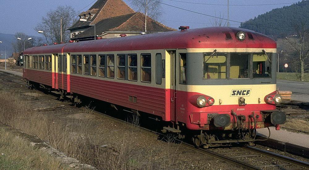 Autorail EAD « Caravelle » X4300 - X4500 - X4630 - X4900 - RAP