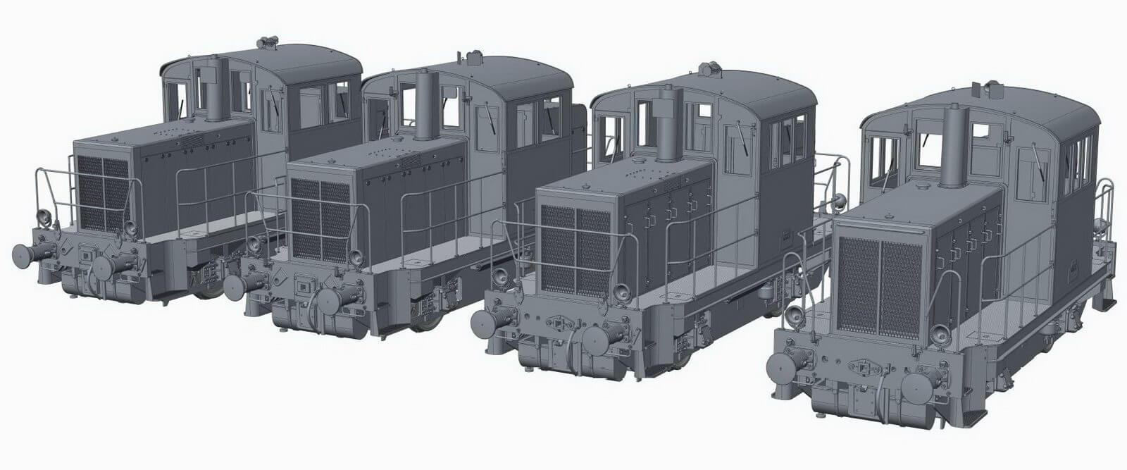 Locotracteurs Y6200-Y6400 et Y7100-Y7400